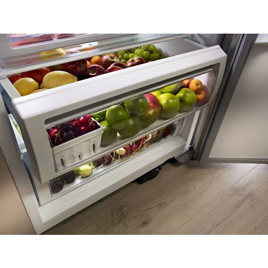 Model: KBSD618ESS | KitchenAid 29.5 cu. ft 48-Inch Width Built-In Side by Side Refrigerator