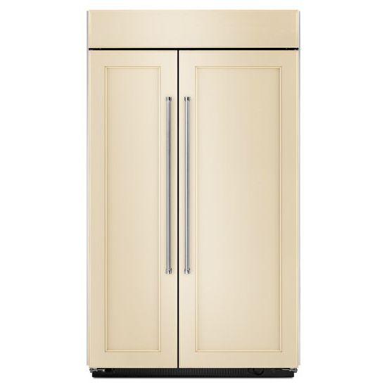 25.5 cu. ft 42-Inch Width Built-In Side by Side Refrigerator