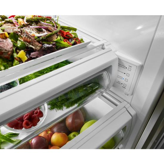 30.0 cu. ft 48-Inch Width Built-In Side by Side Refrigerator with PrintShield™ Finish