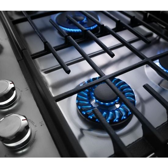 36'' 5-Burner Gas Cooktop with Griddle