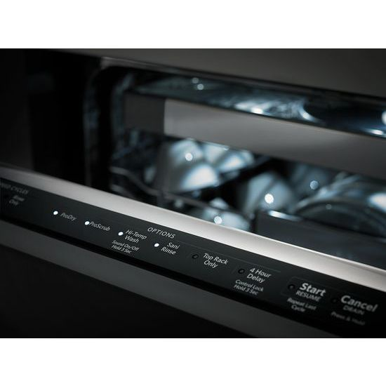 44 dBA Dishwasher with Panel-Ready Design