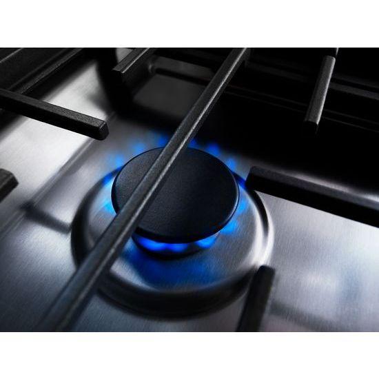 30-Inch 4-Burner Dual Fuel Downdraft Slide-In Range