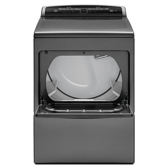 Model: WED7500GC | 7.4 cu.ft Top Load HE Electric Dryer with AccuDry™ , Intuitive Touch Controls