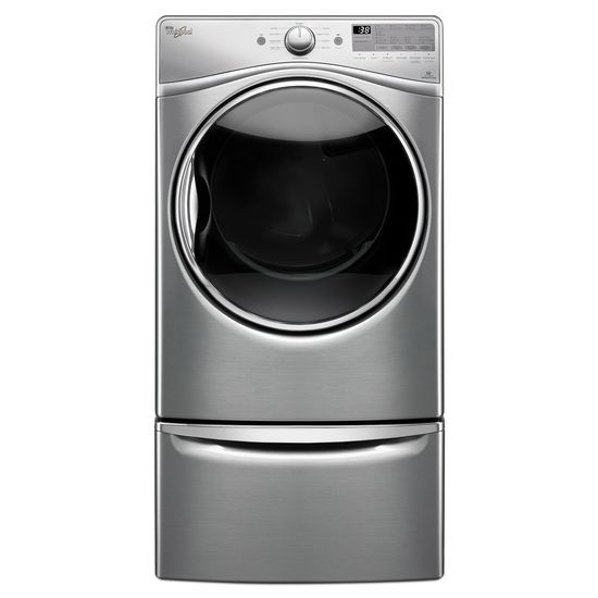 "Model: XHPC155YU | Laundry 123 15.5"" Pedestal for Front Load Washer and Dryer with Storage"