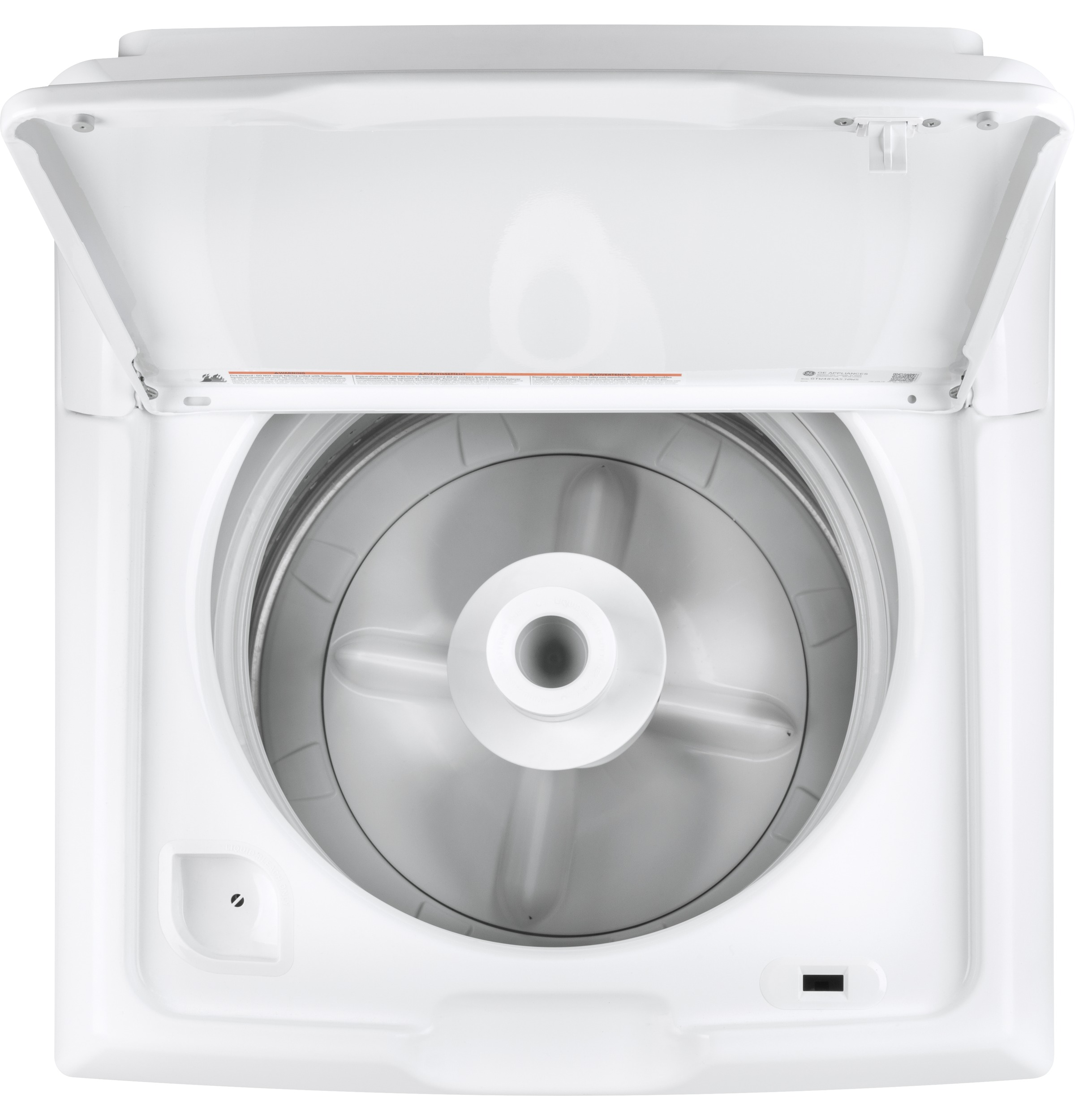 8717d3aaa91 GE - GTW335ASNWW - GE® 4.2 cu. ft. Capacity Washer with Stainless ...