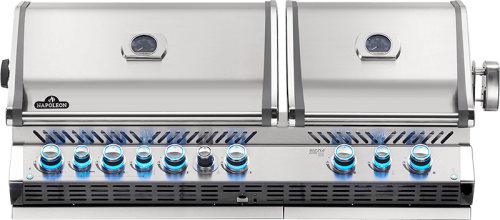 Prestige Pro 825 Built In Gas Grill with Infrared Infrared Bottom & Rear Burners-  Natural Gas
