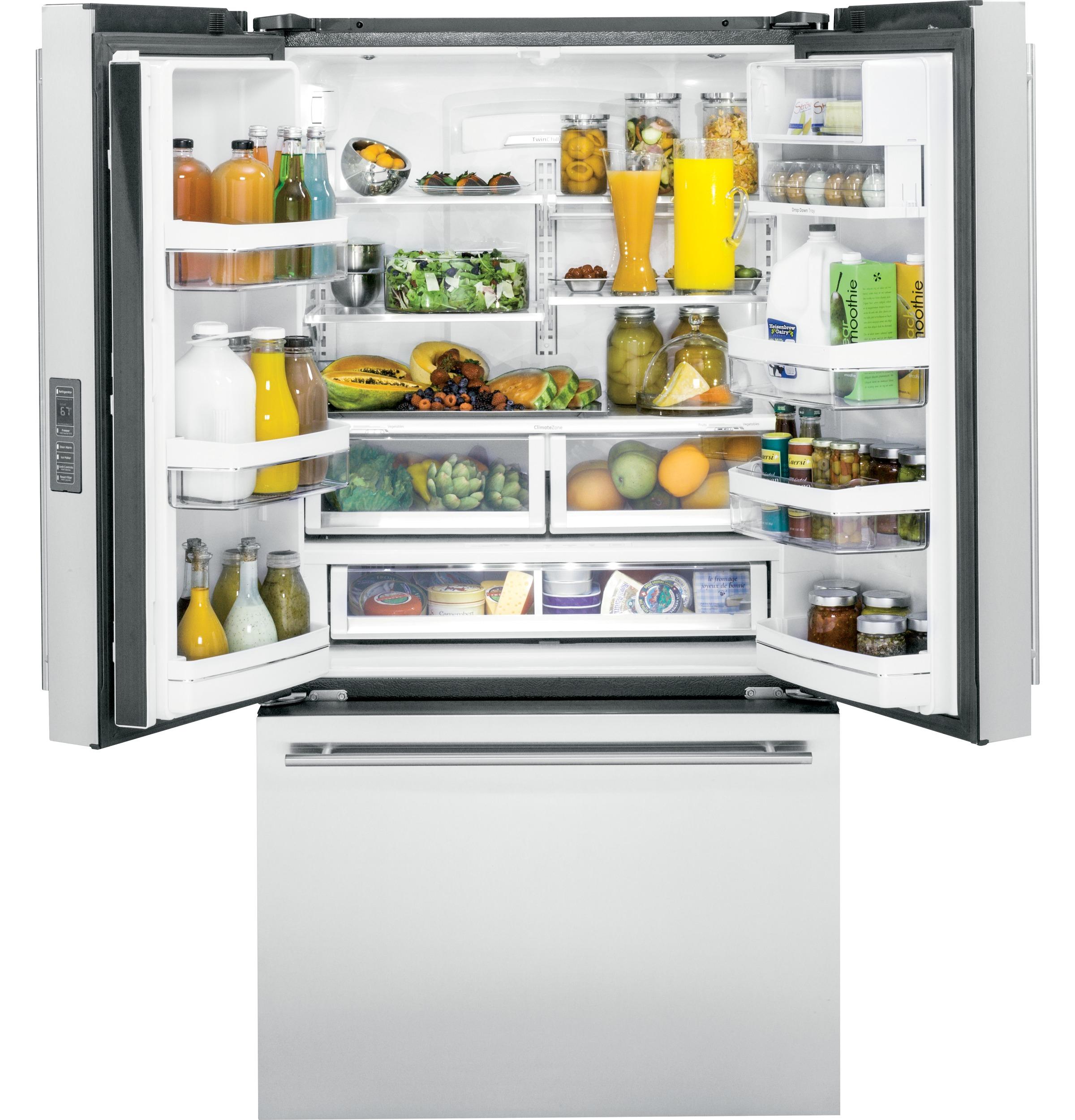 Monogram ENERGY STAR® 23.1 Cu. Ft. Counter-Depth French-Door Refrigerator