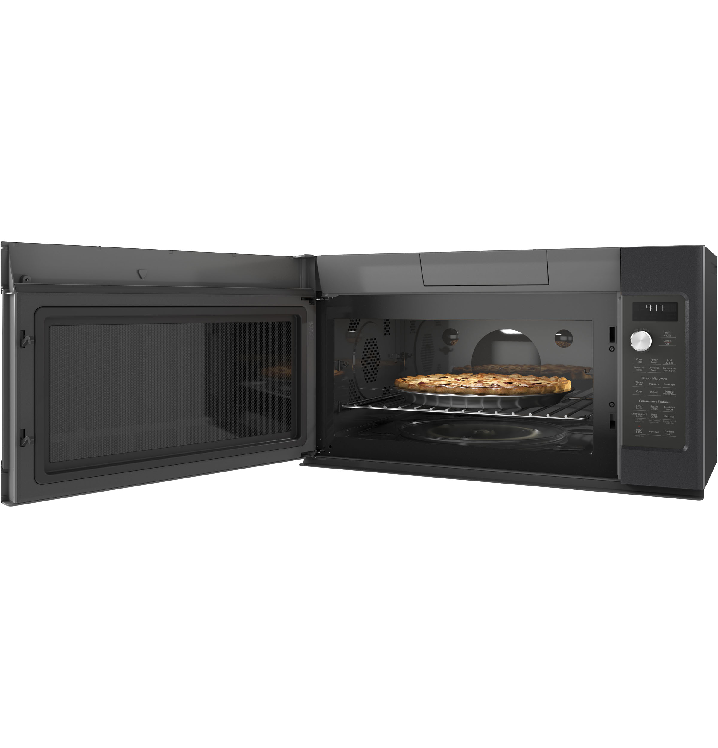 GE Café™ Series 1.7 Cu. Ft. Convection Over-the-Range Microwave Oven