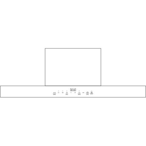"36"" WiFi Enabled Designer Wall Mount Hood w/ Perimeter Venting"