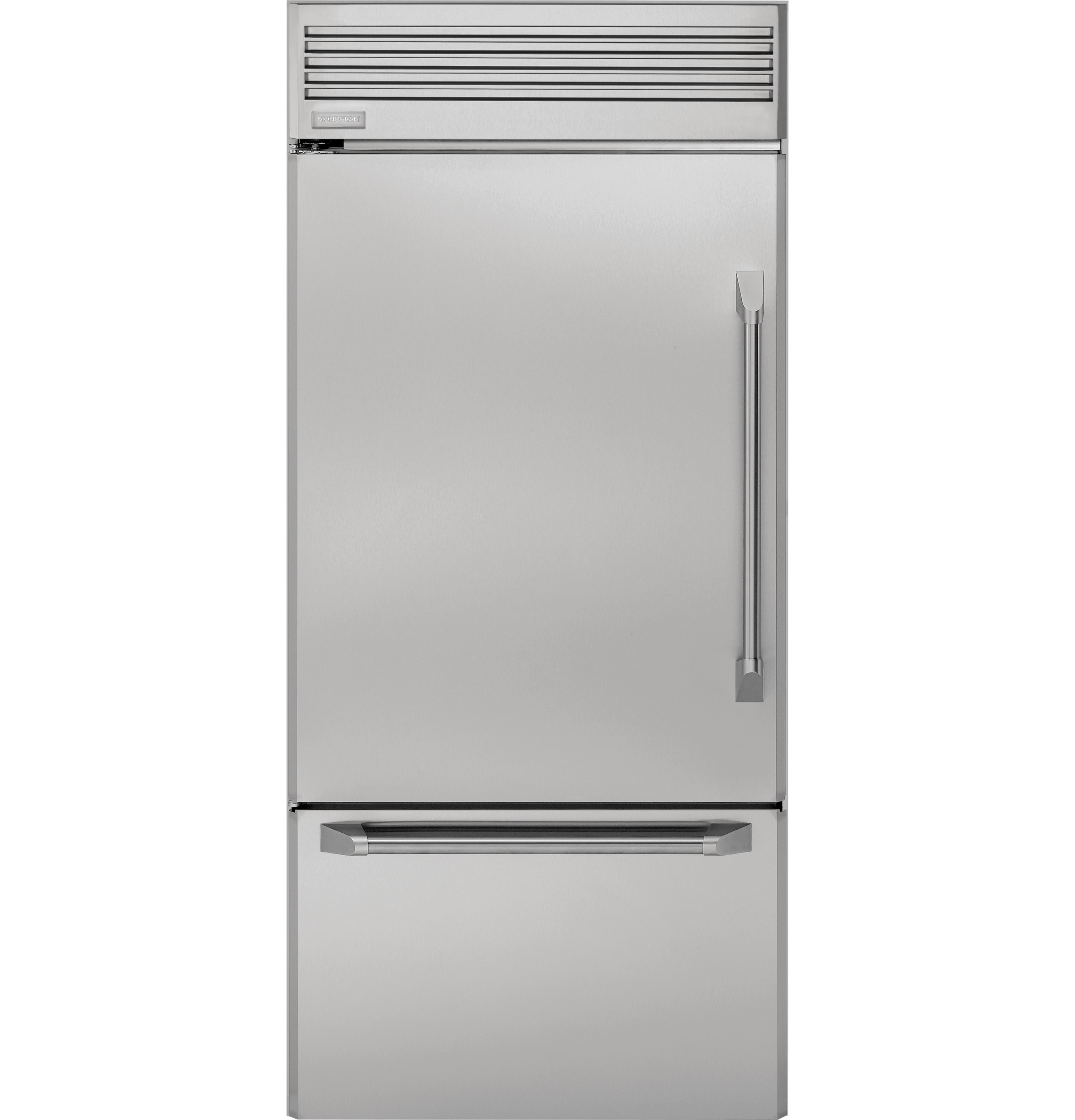 "Monogram Monogram 36"" Professional Built-In Bottom-Freezer Refrigerator"