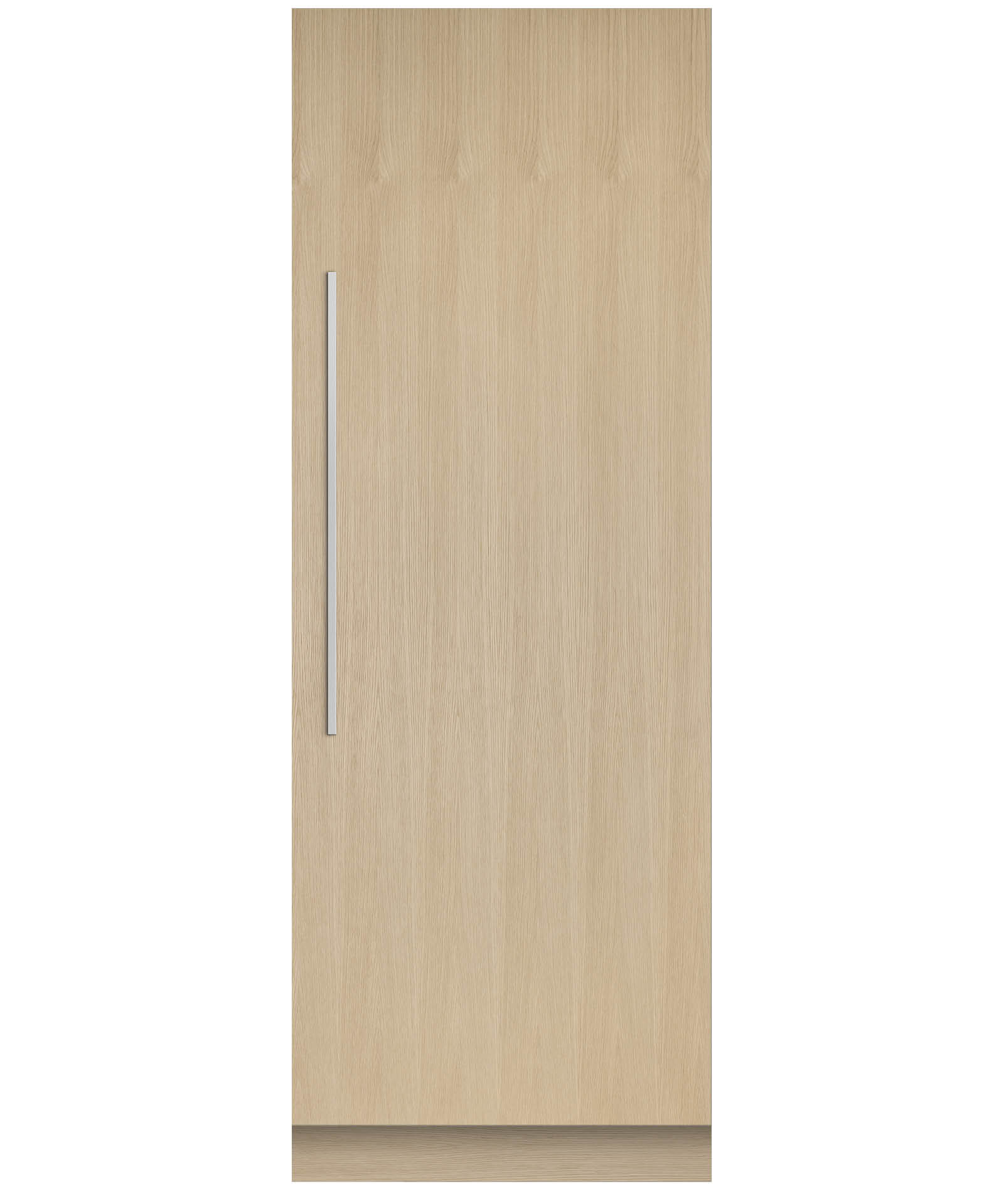 "Integrated Column Refrigerator 30"", Stainless Steel Interior"