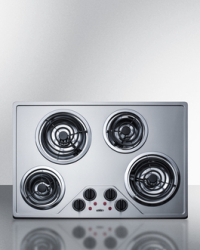 "Summit 30"" Electric Coil Cooktop"