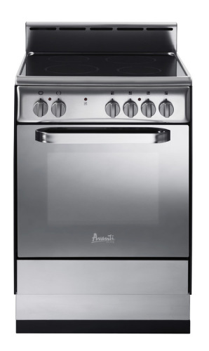 "Avanti 24"" Deluxe Electric Range - Stainless Steel"