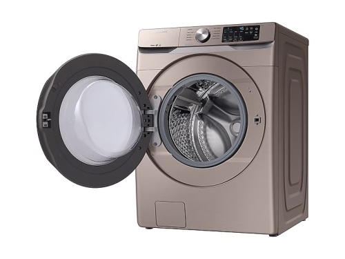 Model: WF45R6100AC | Samsung 4.5 cu. ft. Front Load Washer with Steam