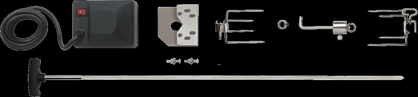 Model: 69211 | Napoleon Heavy Duty Rotisserie Kit for Large Grills