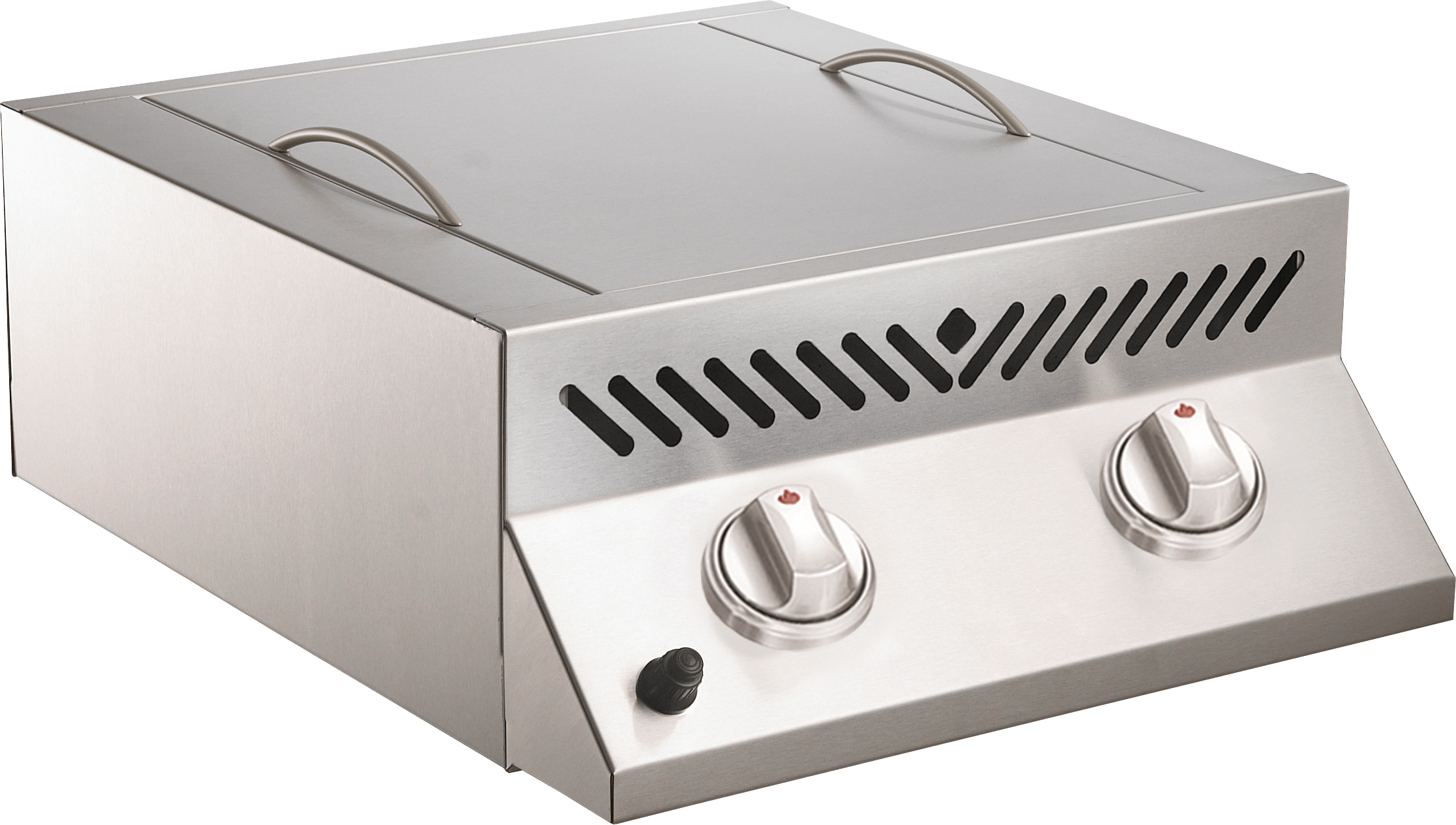 Napoleon Built-in Flat Top SIZZLE ZONE™ Natural Gas Grill Head with Two Infrared Burners