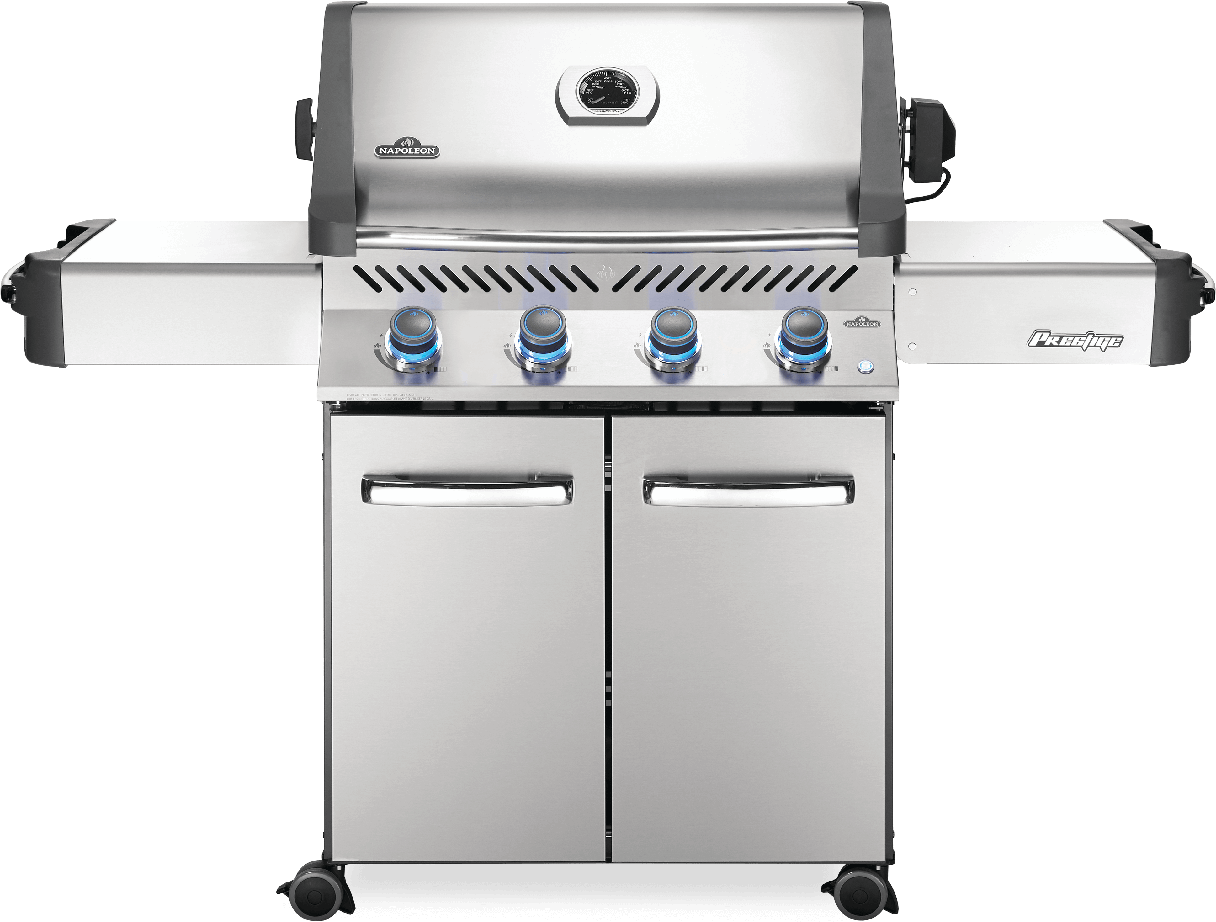 Napoleon Prestige® 500 Propane Gas Grill, Stainless Steel