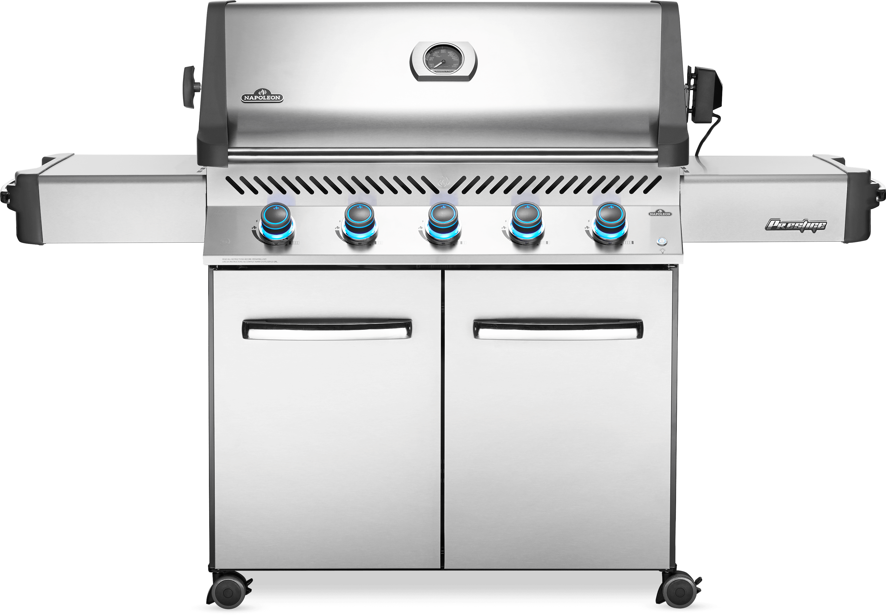 Napoleon Prestige® 665 Propane Gas Grill, Stainless Steel