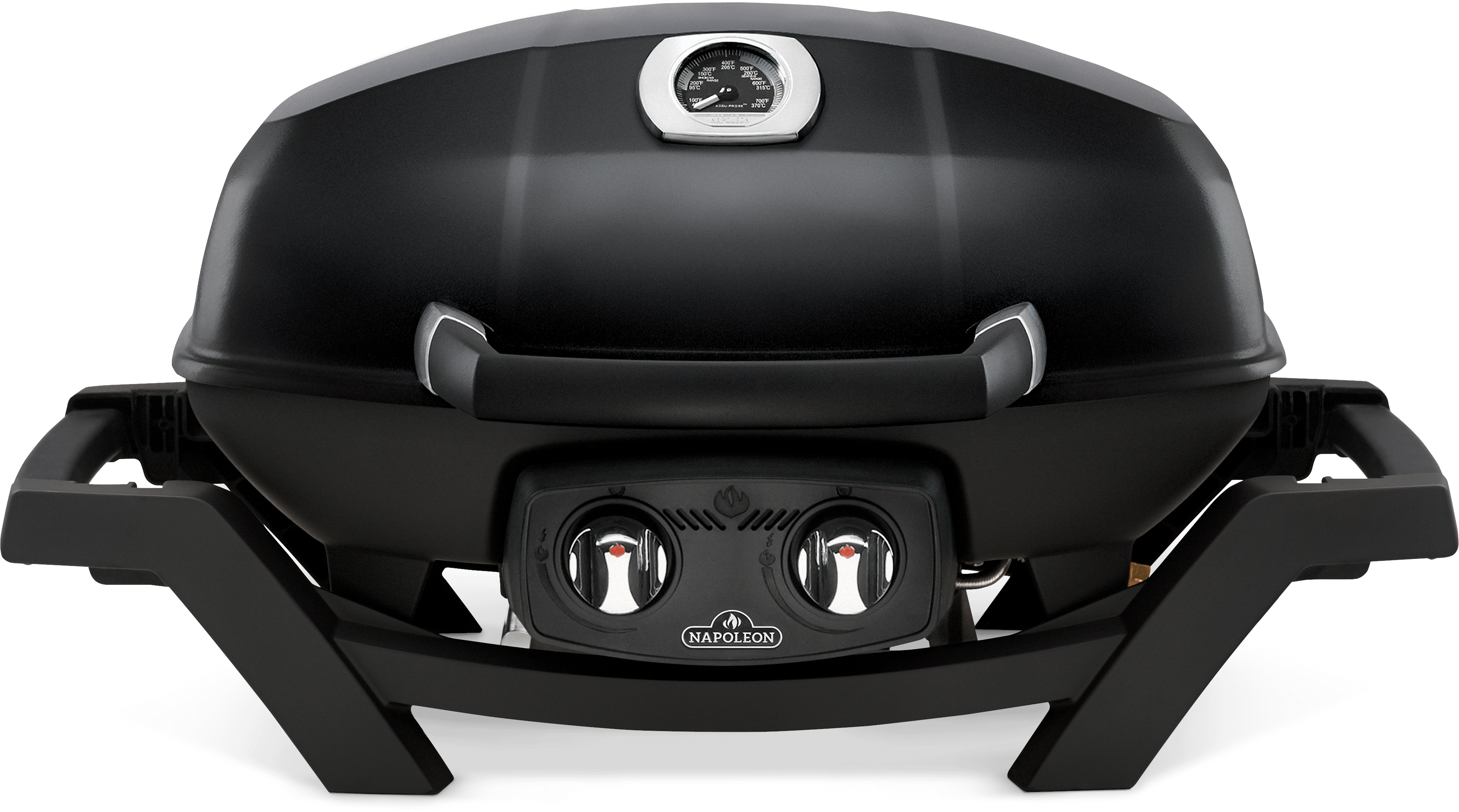 Napoleon TravelQ™ PRO285 Portable Propane Gas Grill, Black