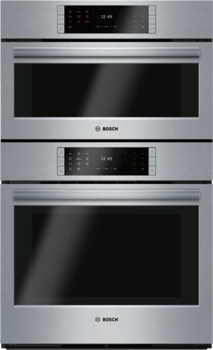 "Model: HSLP751UC | Bosch 30"" Steam Convection Combination Oven, HSLP751UC, Stainless Steel"