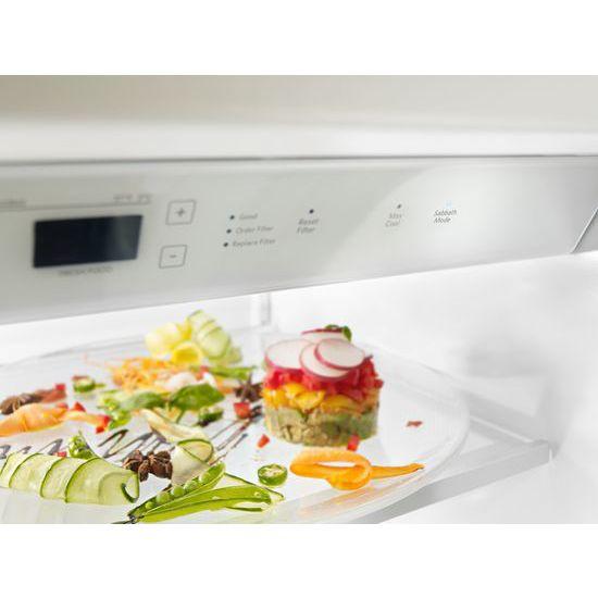 Model: KBSN608ESS | 30.0 cu. ft 48-Inch Width Built-In Side by Side Refrigerator with PrintShield™ Finish