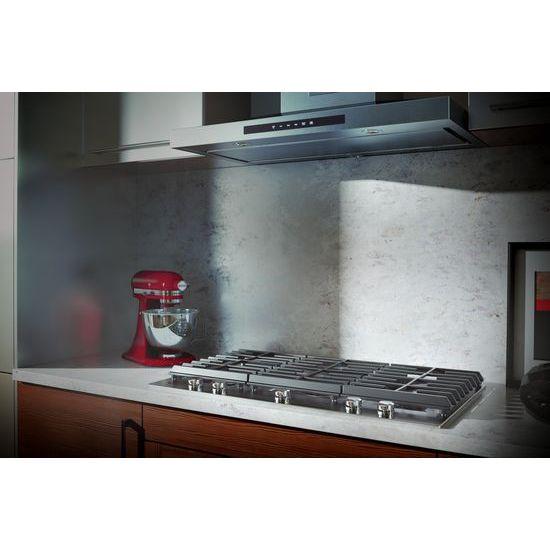 Model: KCGS956ESS | 36'' 5-Burner Gas Cooktop with Griddle