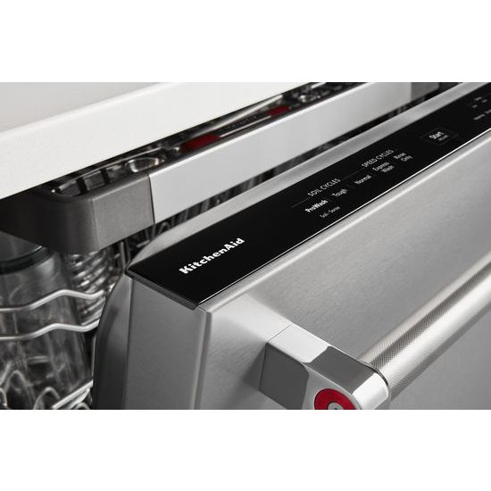 Model: KDTE334GPS | KitchenAid 39 DBA Dishwasher with Fan-Enabled ProDry™ System and PrintShield™ Finish