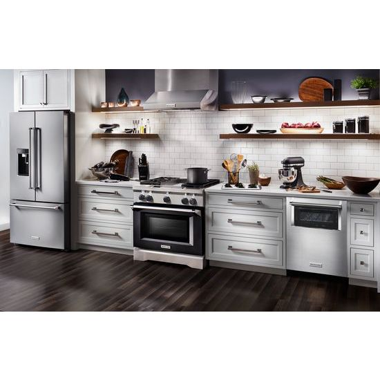 Model: KDTM804ESS | 44 dBA Dishwasher with Window and Lighted Interior