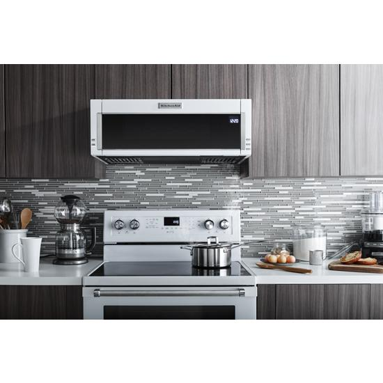 Model: KFEG500EWH | 30-Inch 5-Element Electric Convection Range