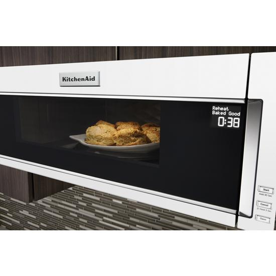 Kitchenaid Kmls311hwh 1000 Watt Low Profile Microwave Hood