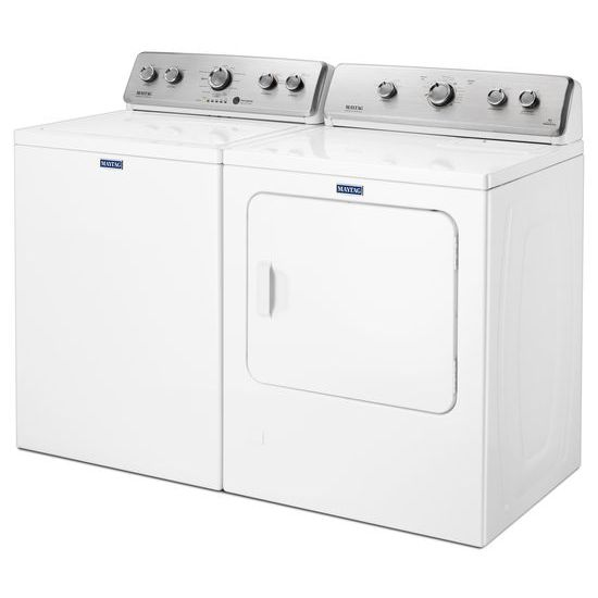 Model: MEDC465HW | Large Capacity Top Load Dryer with Wrinkle Control – 7.0 cu. ft.