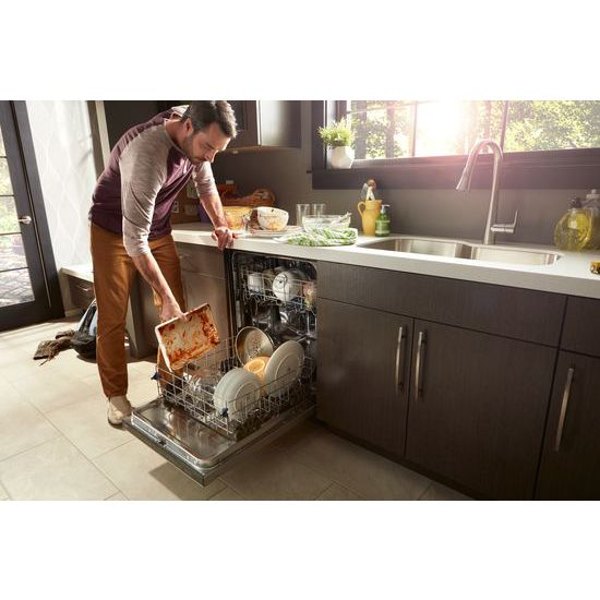 Model: WDT750SAHB | Stainless Steel Tub Dishwasher with TotalCoverage Spray Arm