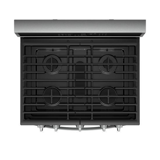 Model: WFG975H0HZ | 5.8 cu. ft. Smart Freestanding Gas Range with EZ-2-Lift™ Grates