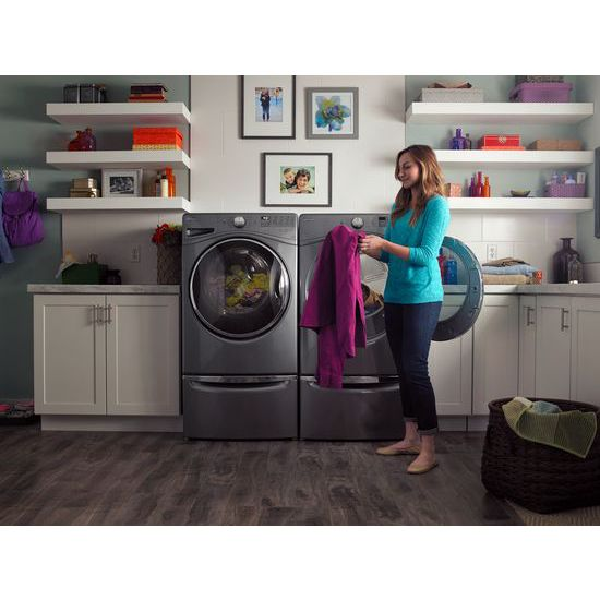 Model: WFW92HEFC | 4.5  cu.ft Front Load Washer with Load & Go™, 12 cycles