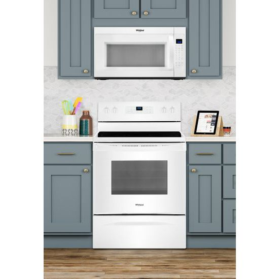Model: WMH53521HW | 2.1 cu. ft. Over-the-Range Microwave with Steam cooking