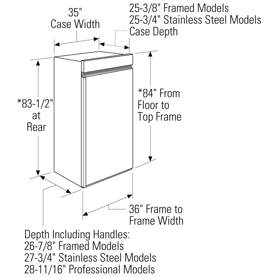 Model: ZIFP360NHLH   Monogram 36