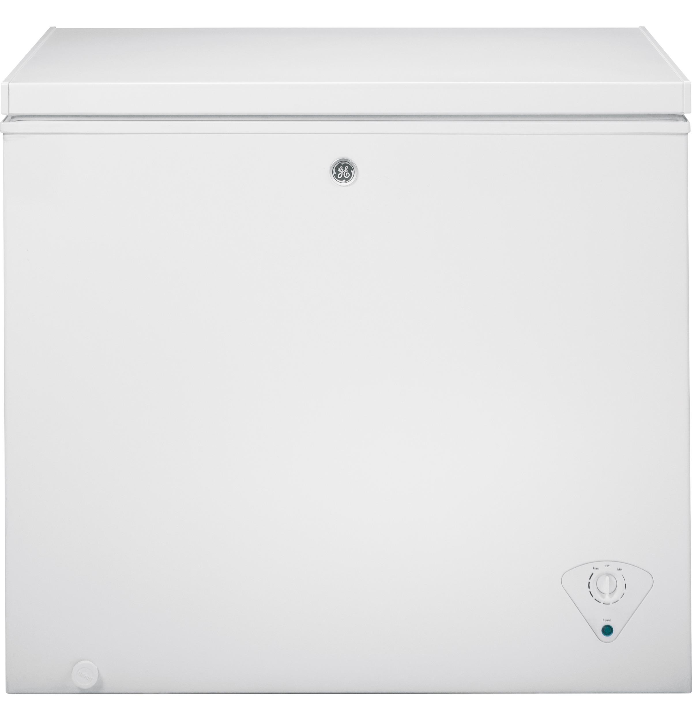 GE® 7.0 Cu. Ft. Manual Defrost Chest Freezer