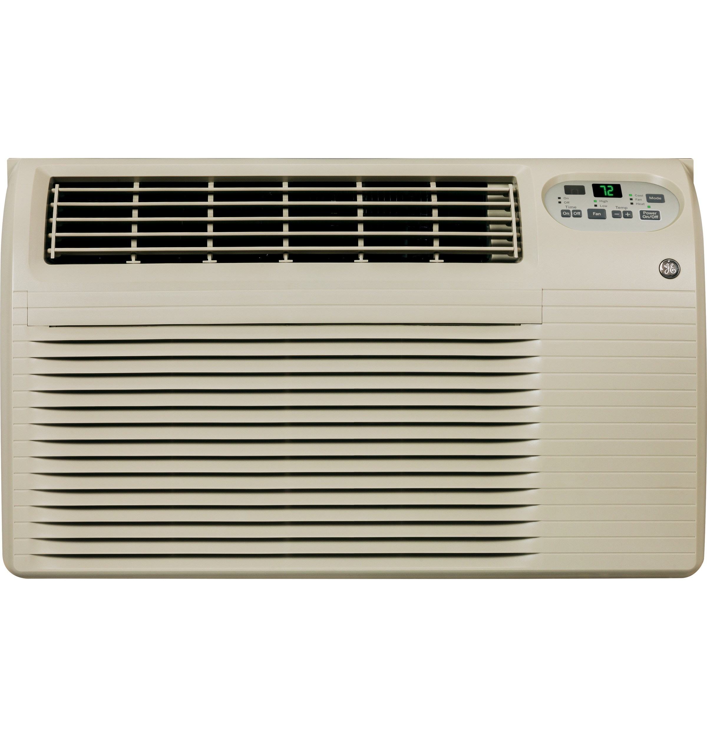 Model: AJEQ12DCF | GE® 230/208 Volt Built-In Heat/Cool Room Air Conditioner
