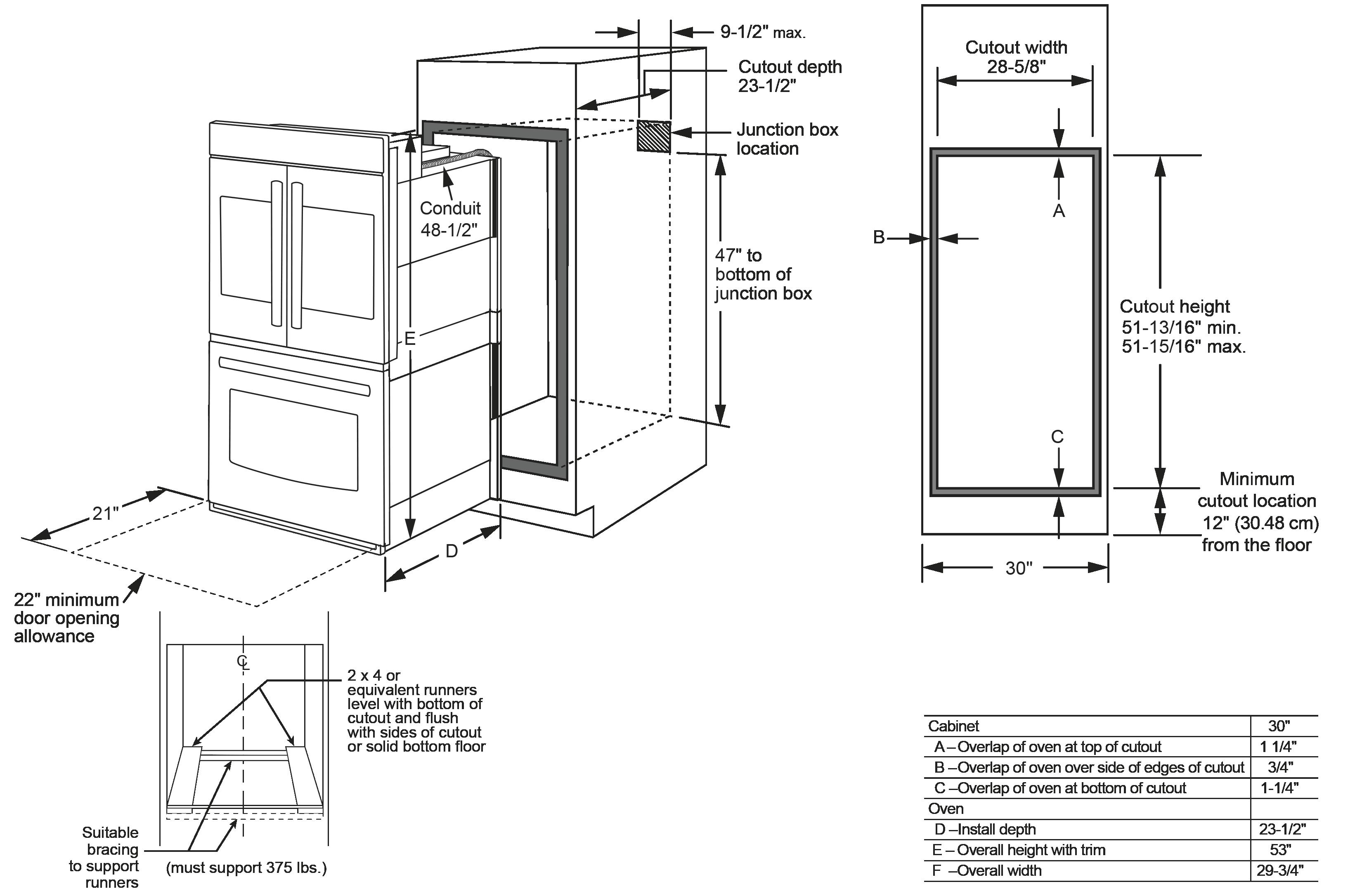 Model: CT9570SLSS | GE Café™ Series 30