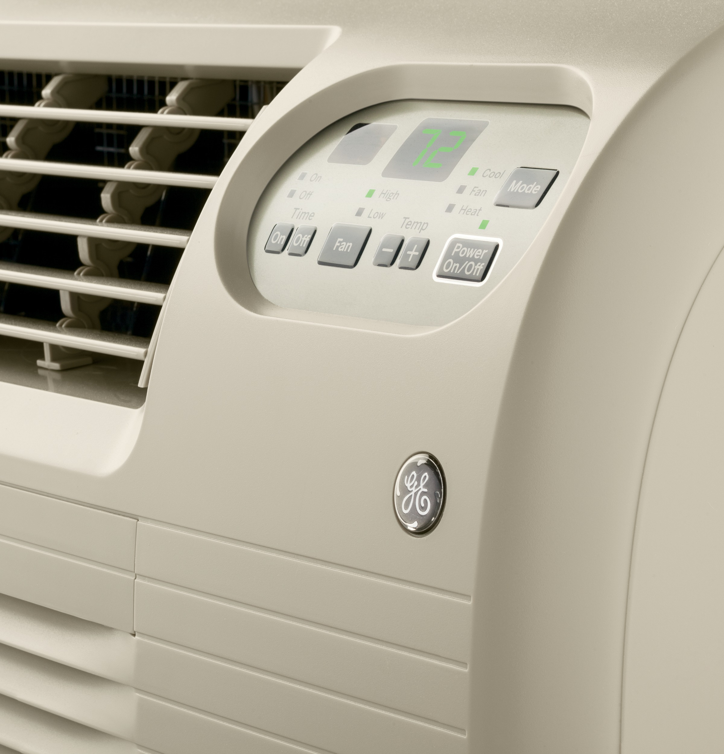 Model: AJEQ10DCF | GE® 230/208 Volt Built-In Heat/Cool Room Air Conditioner