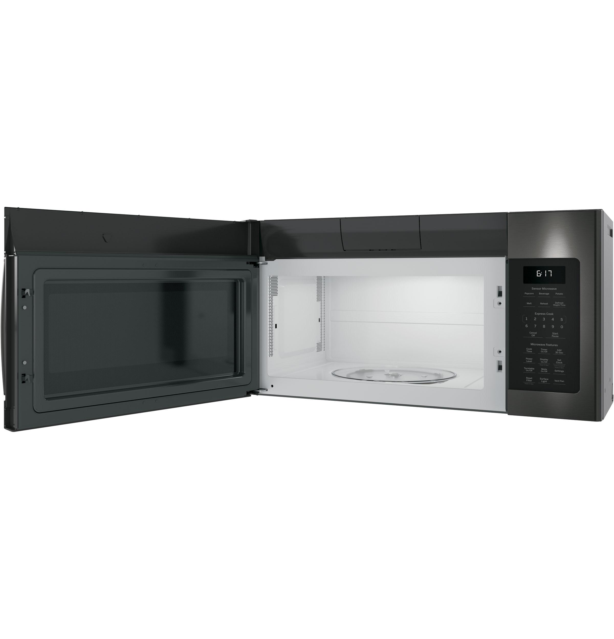 Model: JVM6175BLTS | GE® 1.7 Cu. Ft. Over-the-Range Sensor Microwave Oven