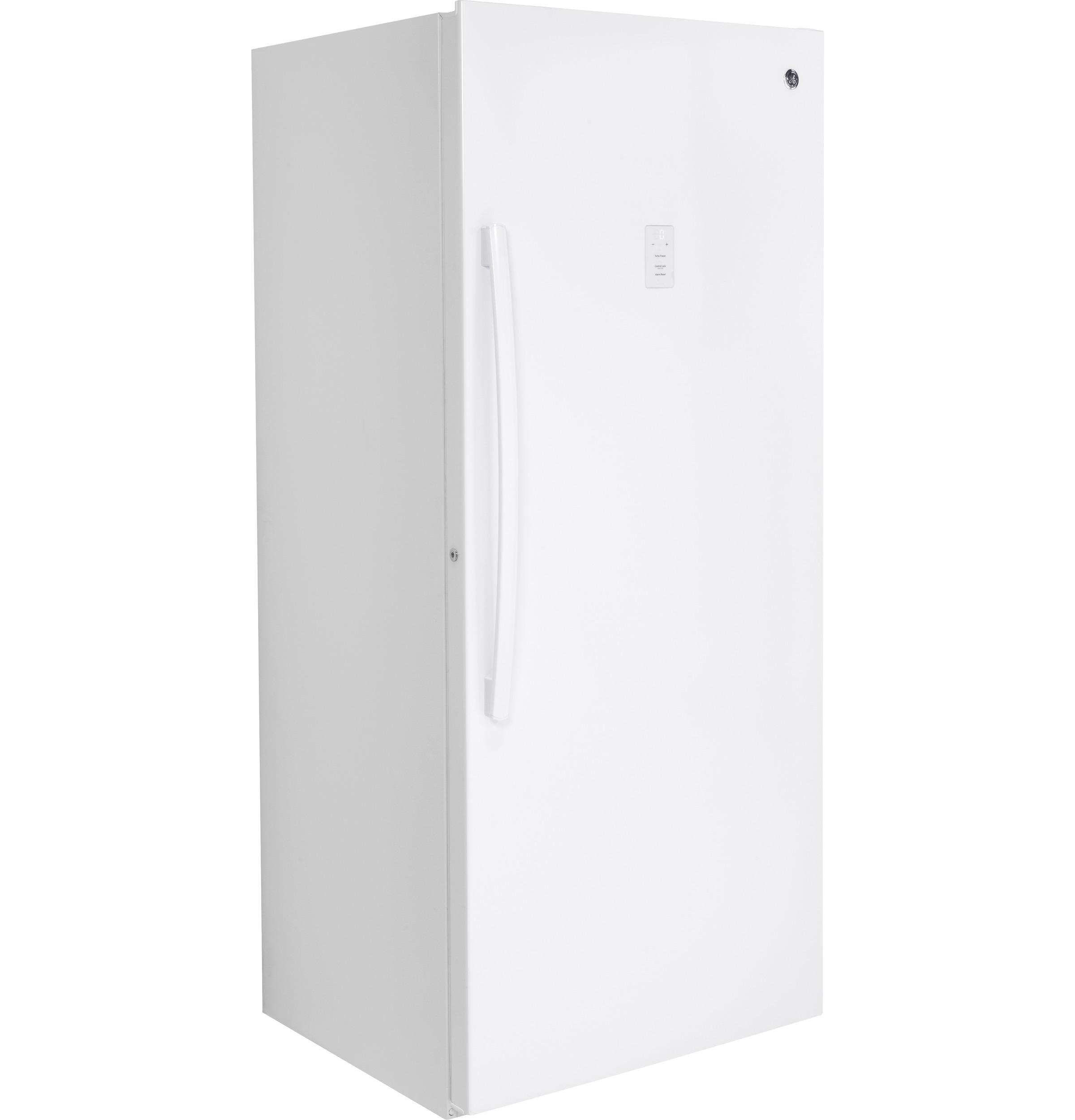 Model: FUF21DLRWW | GE® 21.3 Cu. Ft. Frost-Free Upright Freezer