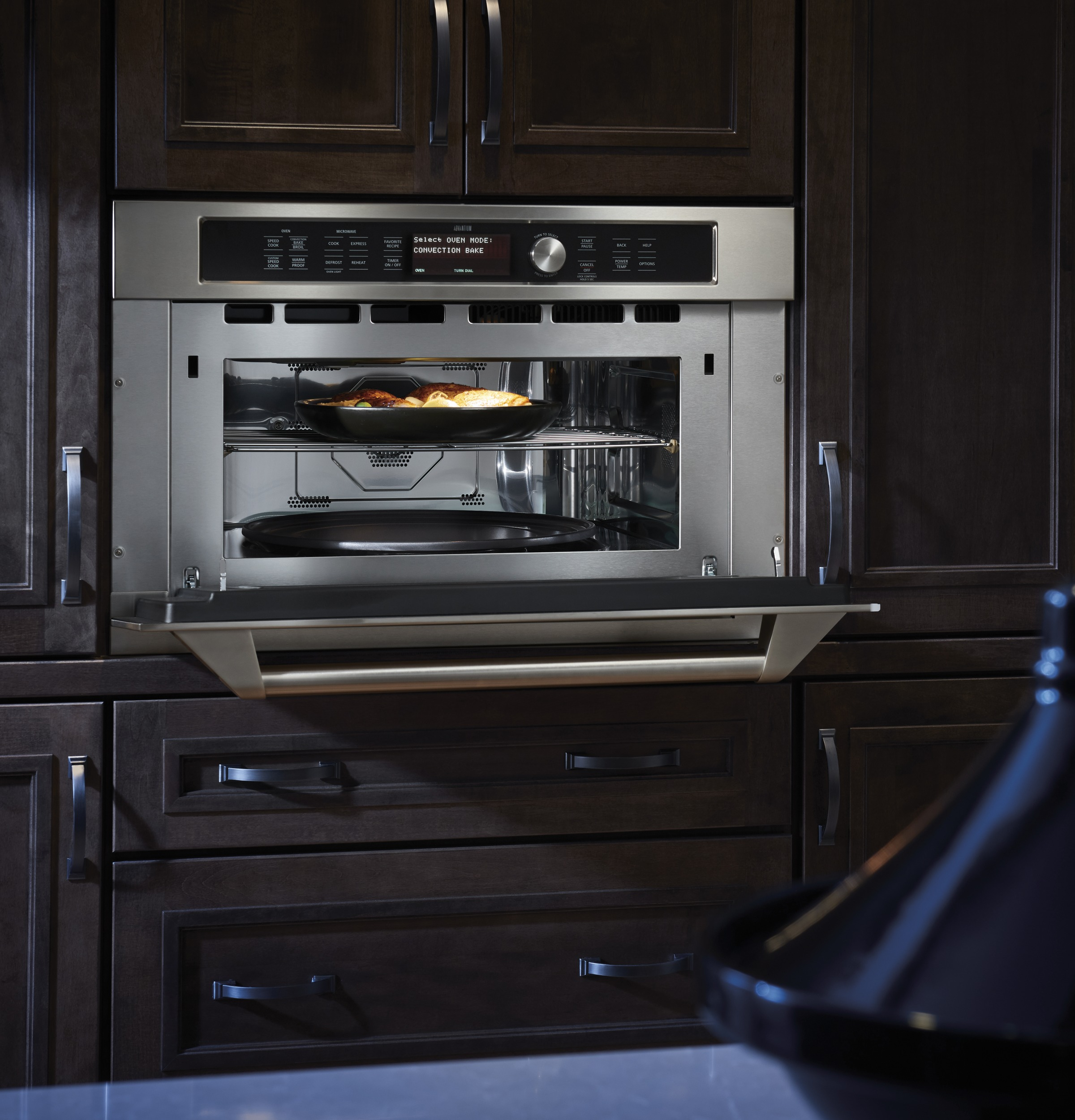 Model: ZSC1202JSS | Monogram Built-In Oven with Advantium® Speedcook Technology- 120V