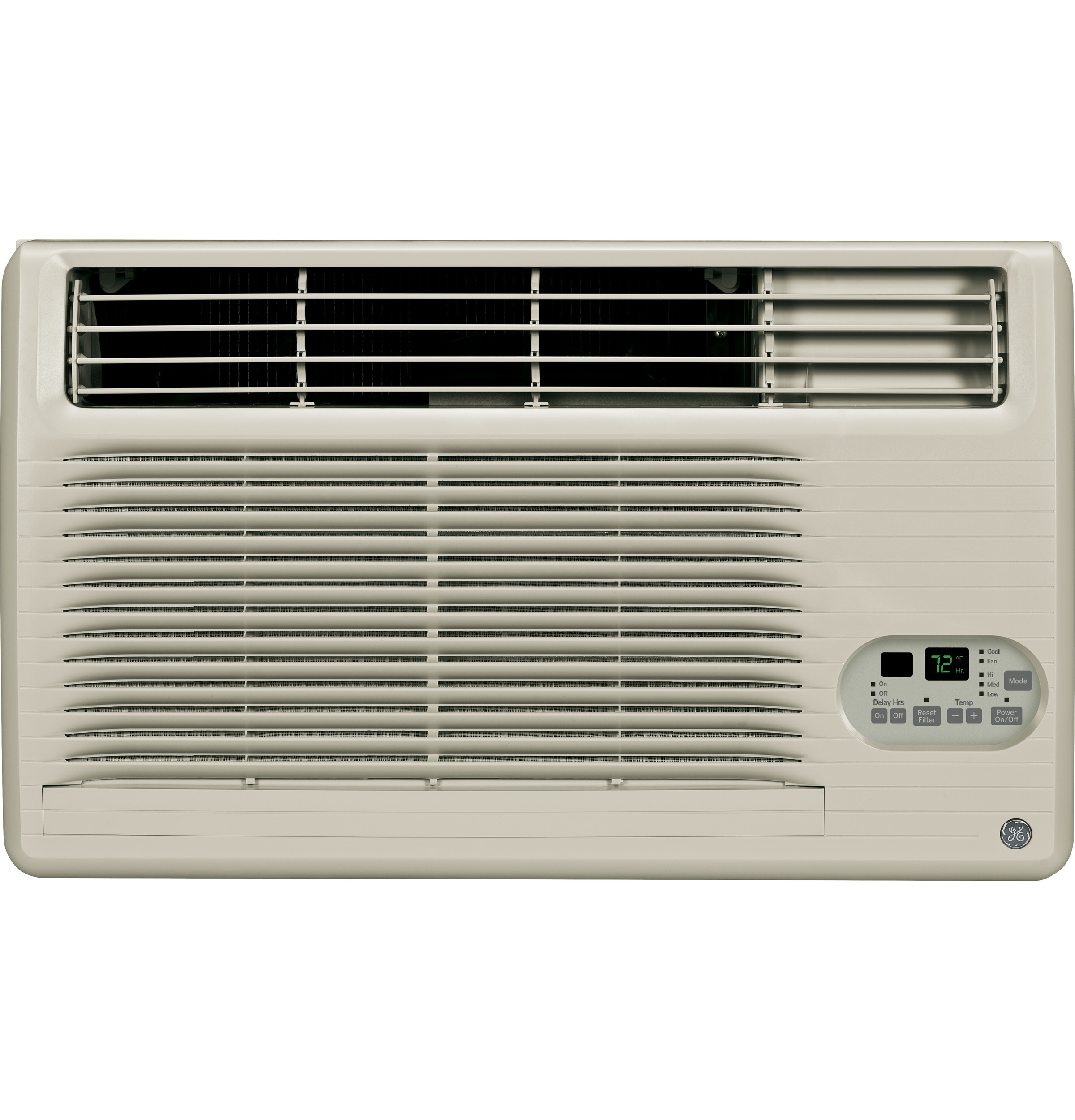 Model: AJCM12DCG   GE® 230/208 Volt Built-In Cool-Only Room Air Conditioner