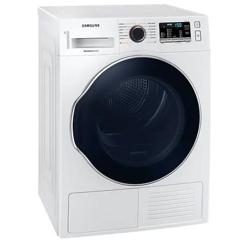"Samsung DV6800H 4.0 cu. ft. 24"" Heat Pump Dryer with Smart Care"