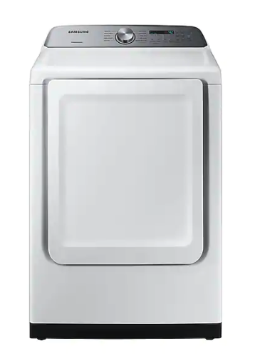 Samsung DV5200 7.4 cu. ft. Electric Dryer with Sensor Dry in White