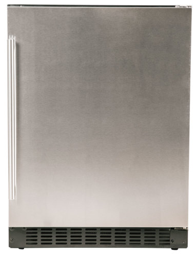 Azure  Undercounter Refrigerator with solid stainless door