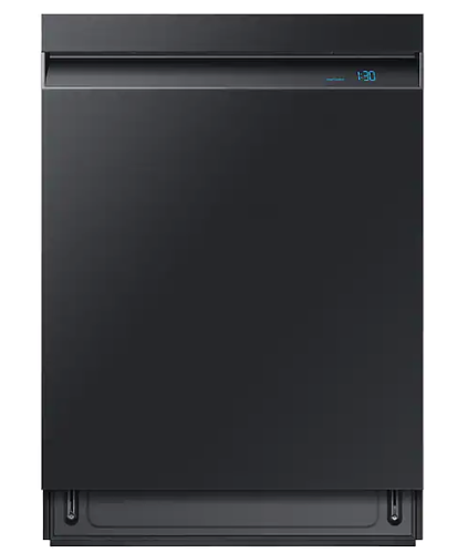 Model: DW80R9950UG | Samsung Linear Wash 39dBA Dishwasher in Black Stainless Steel