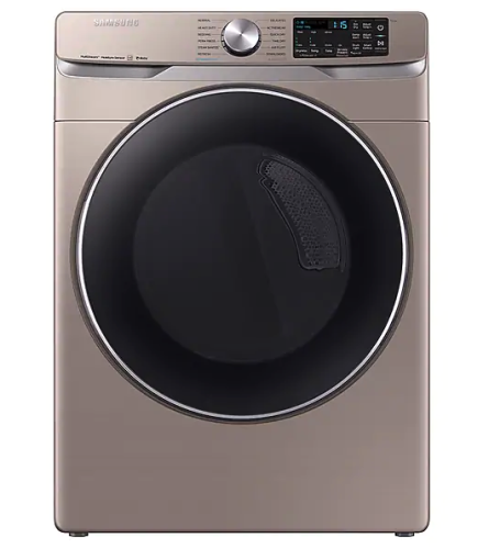 Samsung DV6300 7.5 cu. ft. Smart Electric Dryer with Steam Sanitize+ in Champagne
