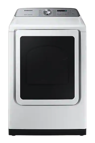 Model: DVG50R5400W | Samsung DV5400 7.4 cu. ft. Gas Dryer with Steam Sanitize+ in White